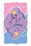 Lumpy Space Princess Flip Print