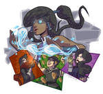 Team Korra! Im The Art Show, Deal With It!