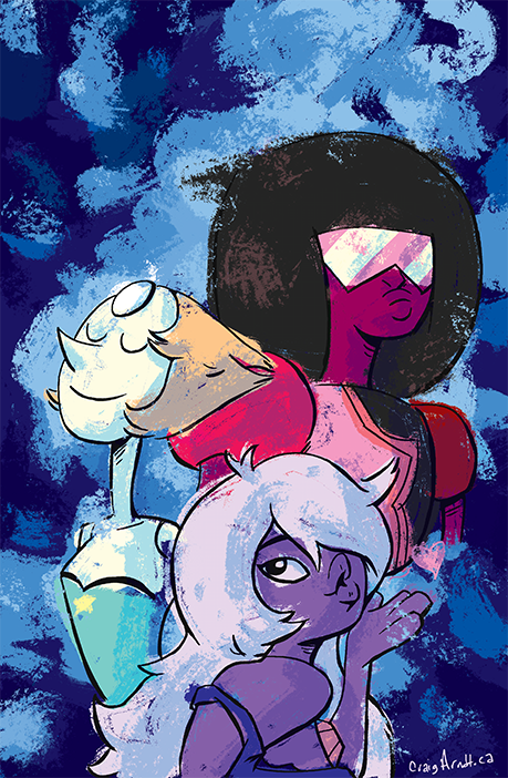 Steven Universe! I figured I'd do a Steven Universe piece because the show looks pretty cool. I've only caught the pilot and first episode so I need to catch up. Also, you ever want to study some f...