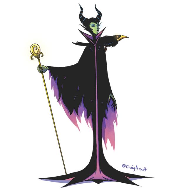 Maleficent by CraigArndt