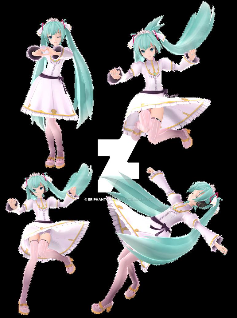 [MMD - Vocaloid] Miku Hatsune - Cendrillon by EriPhantomhive