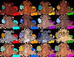 {SET PRICE/COLLAB} Lion Cub Adoptables: CLOSED