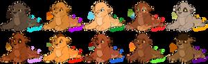 {SET PRICE} Spotty Lion Cub Adoptables: ONE LEFT