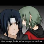 Open your eyes sasuke