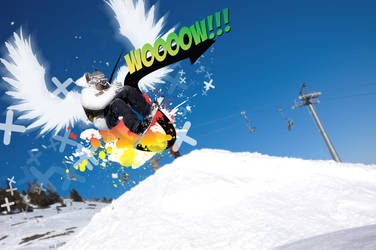 Snowboarder's Scream