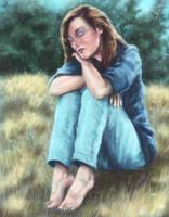 Melancholy by Ugorarts