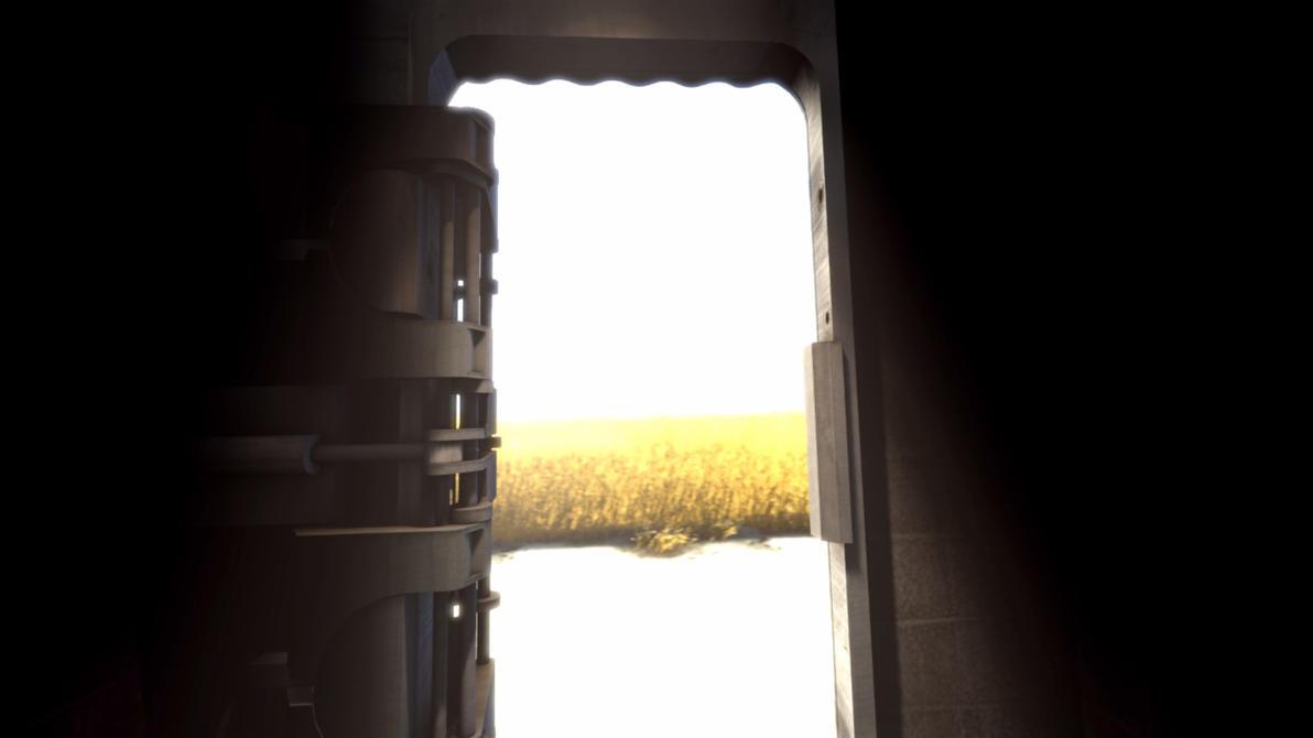 Portal 2 Screenshots - Ending 2 - Door to.... by Angelx91 ... & Portal 2 Screenshots - Ending 2 - Door to.... by Angelx91 on DeviantArt