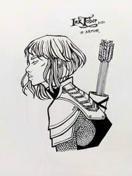 Inktober 2020 - 13 Armor
