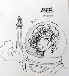 Inktober 2020 - 15 Rocket