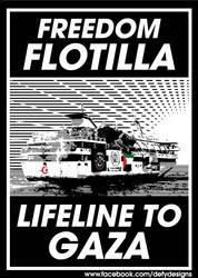 Freedom Flotilla by defystudio