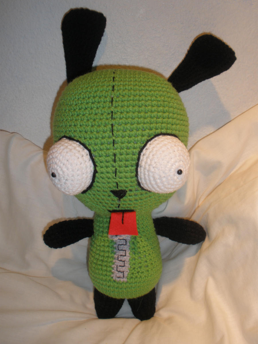 Crochet Invader Zim Patterns : Invader Zim: Gir by aphid777 on DeviantArt