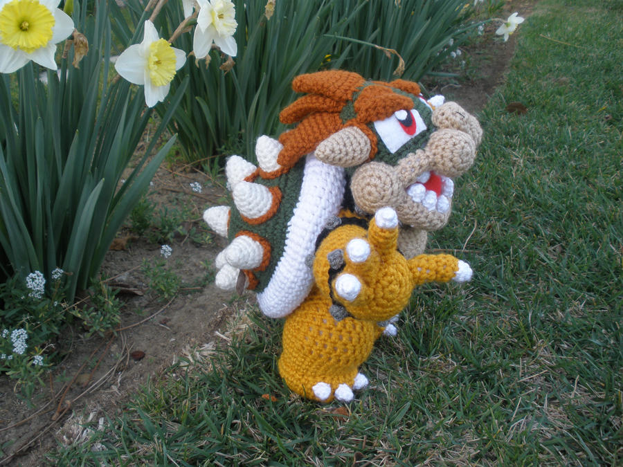 Crocheted bowser 1 by aphid777 on deviantart crocheted bowser 1 by aphid777 dt1010fo