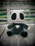 Crocheted Baby Jack Skellington