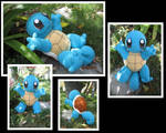 Crocheted Squirtle by aphid777