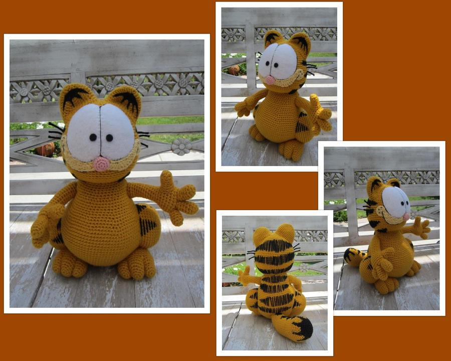 Amigurumi Free Patterns Garfield : Crochet Garfield Crochet Pinterest
