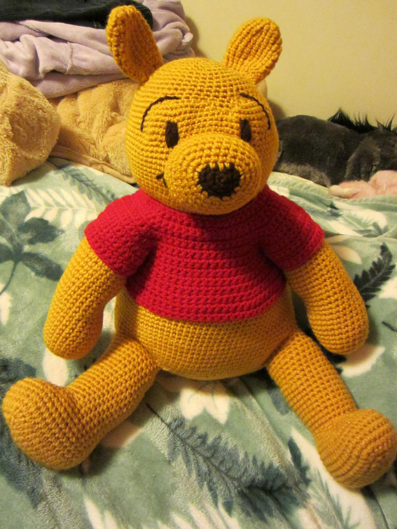 Winnie The Pooh Knitting Patterns Free : Crocheted Pooh by aphid777 on DeviantArt