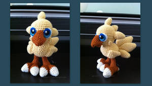 Baby Chocobo (with pattern)