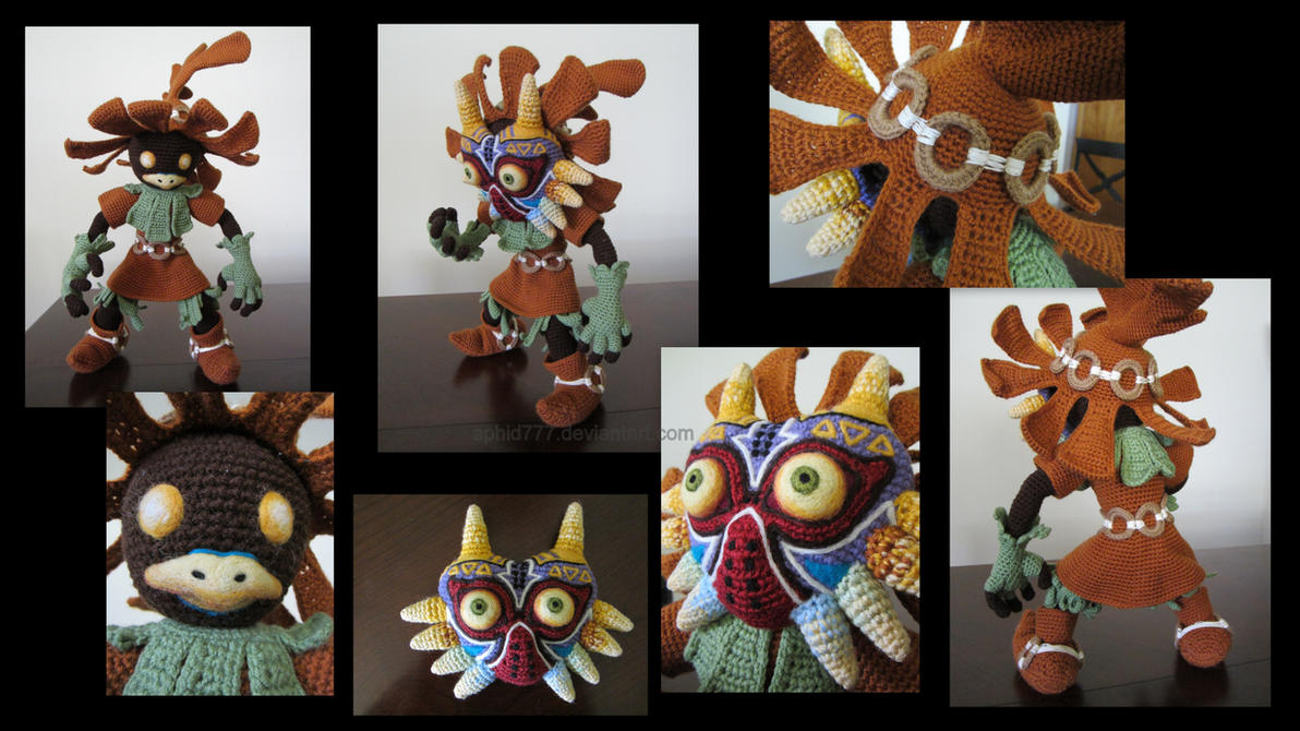 Skull Kid Multi-Views by aphid777