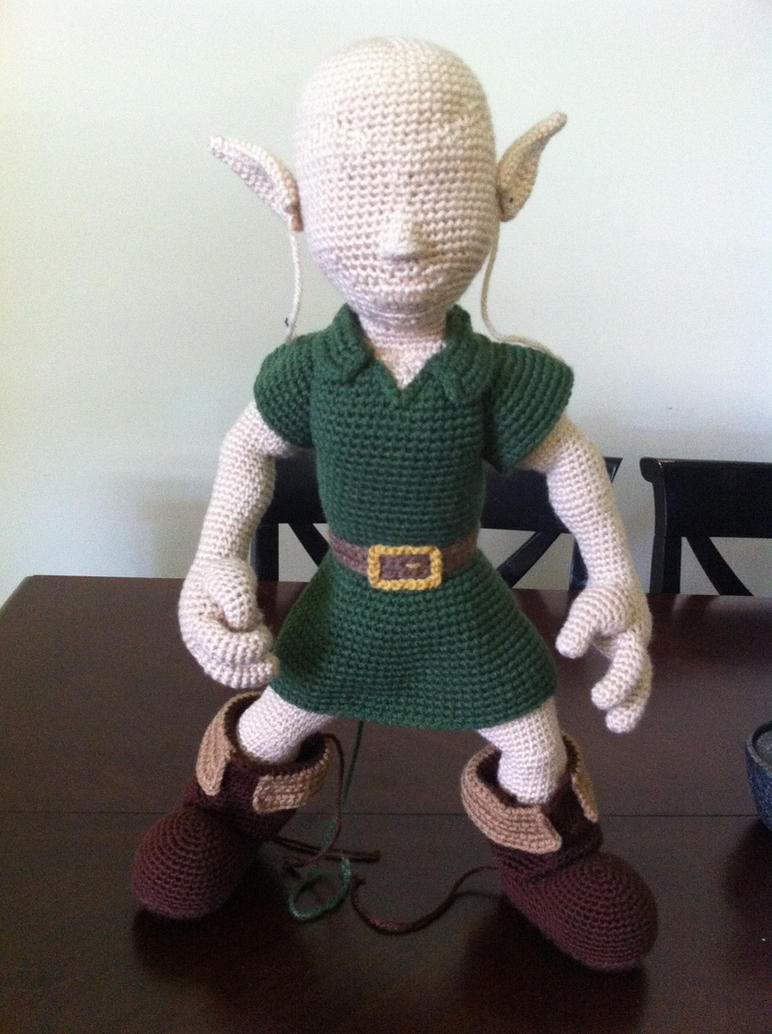 Amigurumi Link : Bald Young Link (WIP) by aphid777 on DeviantArt