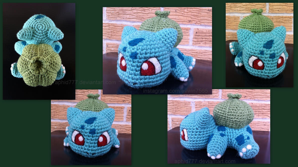 Baby Bulbasaur (with pattern) by aphid777 on DeviantArt