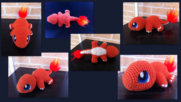 Baby Charmander (with pattern)
