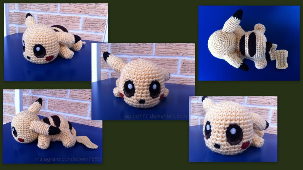 Baby Pikachu (with pattern) by aphid777 on DeviantArt