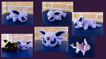 Baby Espeon (with pattern)