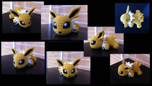 Baby Jolteon (with pattern) by aphid777