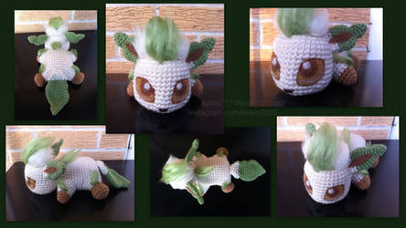 Baby Leafeon (with pattern)