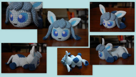 Baby Glaceon (with pattern)