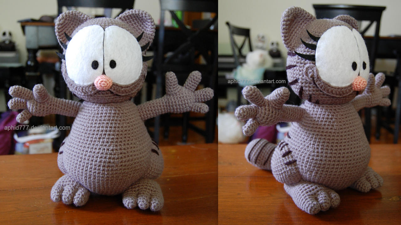 Amigurumi Free Patterns Garfield : Nermal by aphid777 on DeviantArt