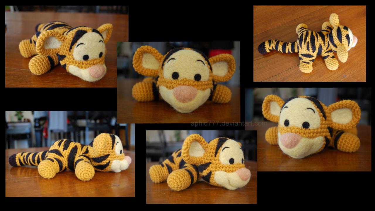 Free Tigger Amigurumi Pattern : Eeyore crochet pattern by skestes on deviantart