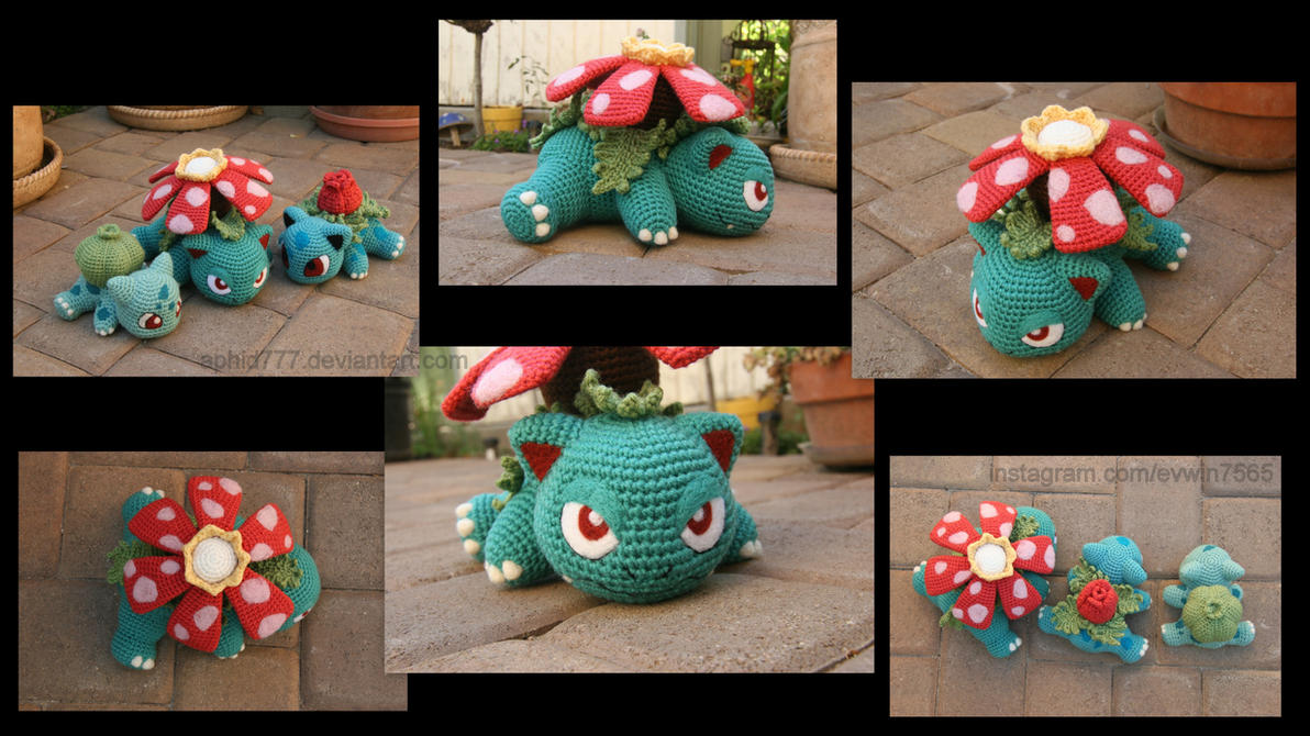 Baby Venusaur by aphid777 on DeviantArt