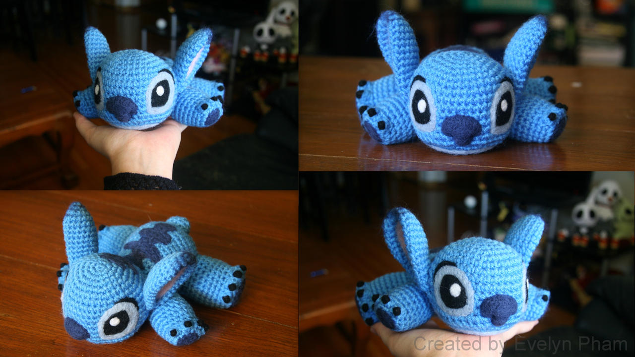 Small Amigurumi Doll Patterns : Baby Stitch by aphid777 on DeviantArt