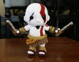 Kratos by aphid777