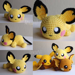 Pichu by aphid777