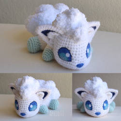 Alolan Vulpix by aphid777