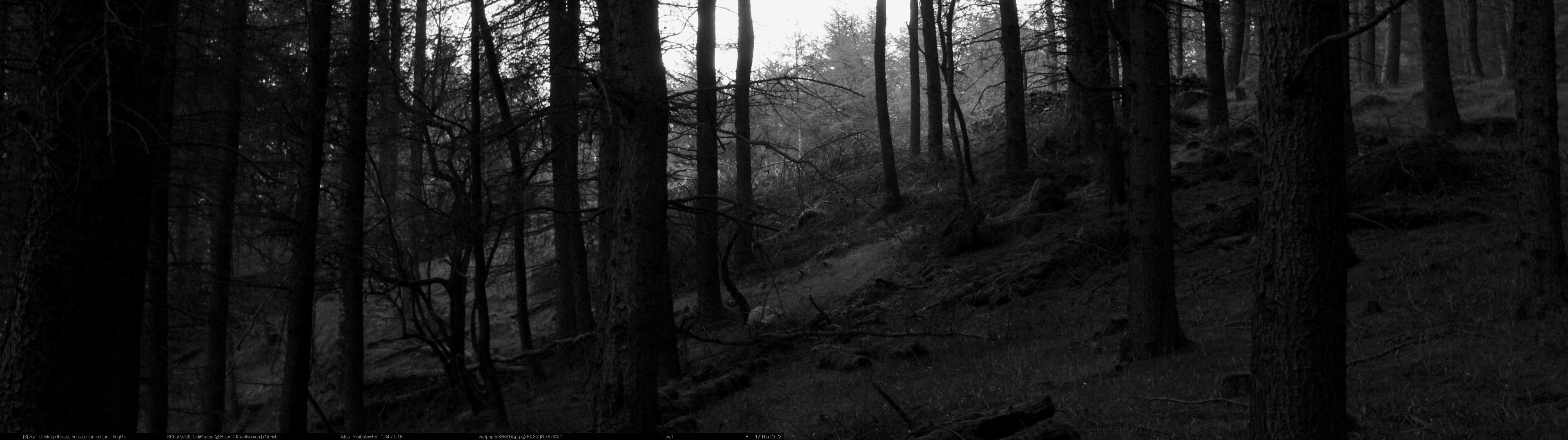 Black Forest By Lolipantsu D575y7y 3840x1080