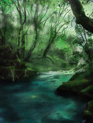 A Green Tranquil place