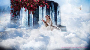 Photomanipulation Trial 1 - Dreams Are Beautiful