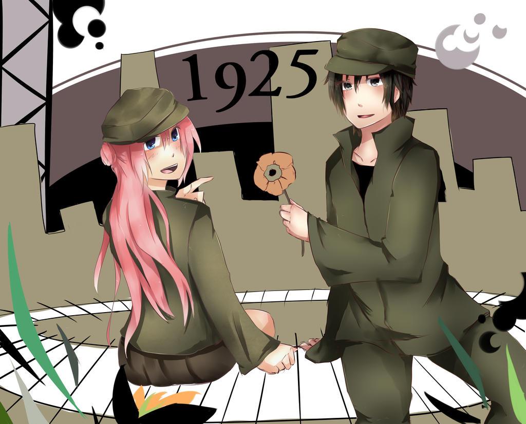 Aika and Trance by Hisekii