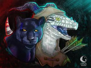 Dragonborn Ranger - A Commission