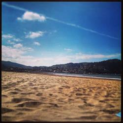 Minehead Beach 2014