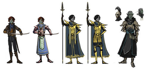 Various ordinator designs