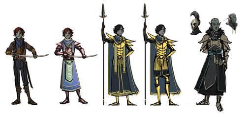 Various ordinator designs