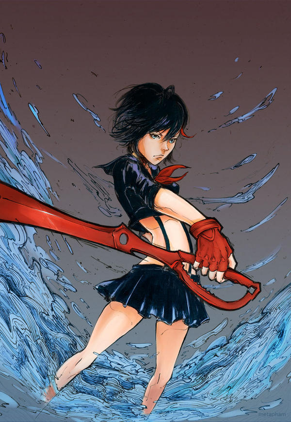 Kill la Kill: Matoi Ryuuko by Metapham