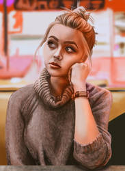 Justine Elizabeth by chabbix