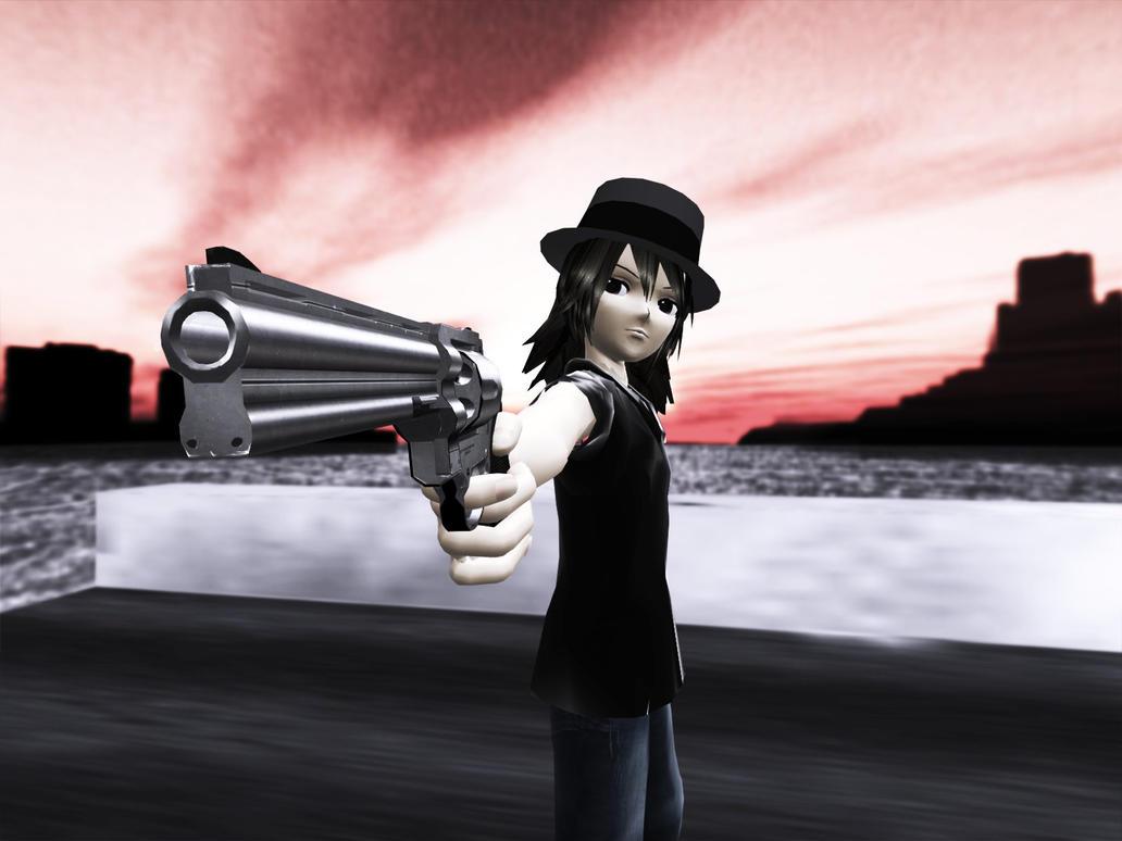 Mmd the gunfighter by wampa842 on deviantart - Gunfighter wallpaper ...