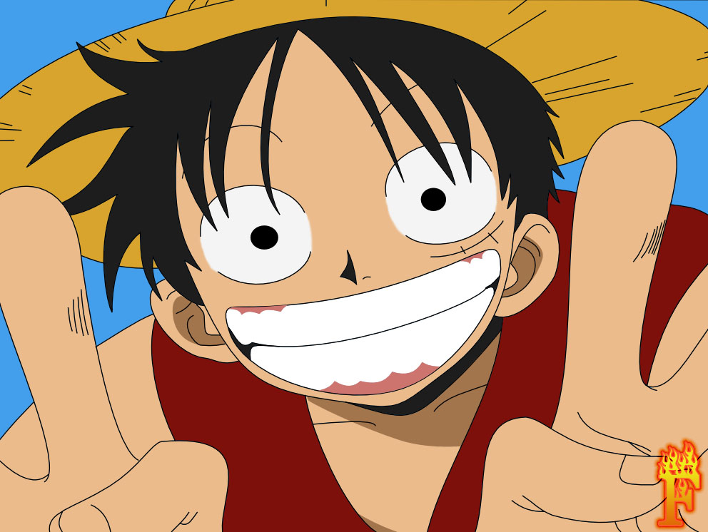 Luffy one piece by fogokhost on deviantart for One piece dibujos
