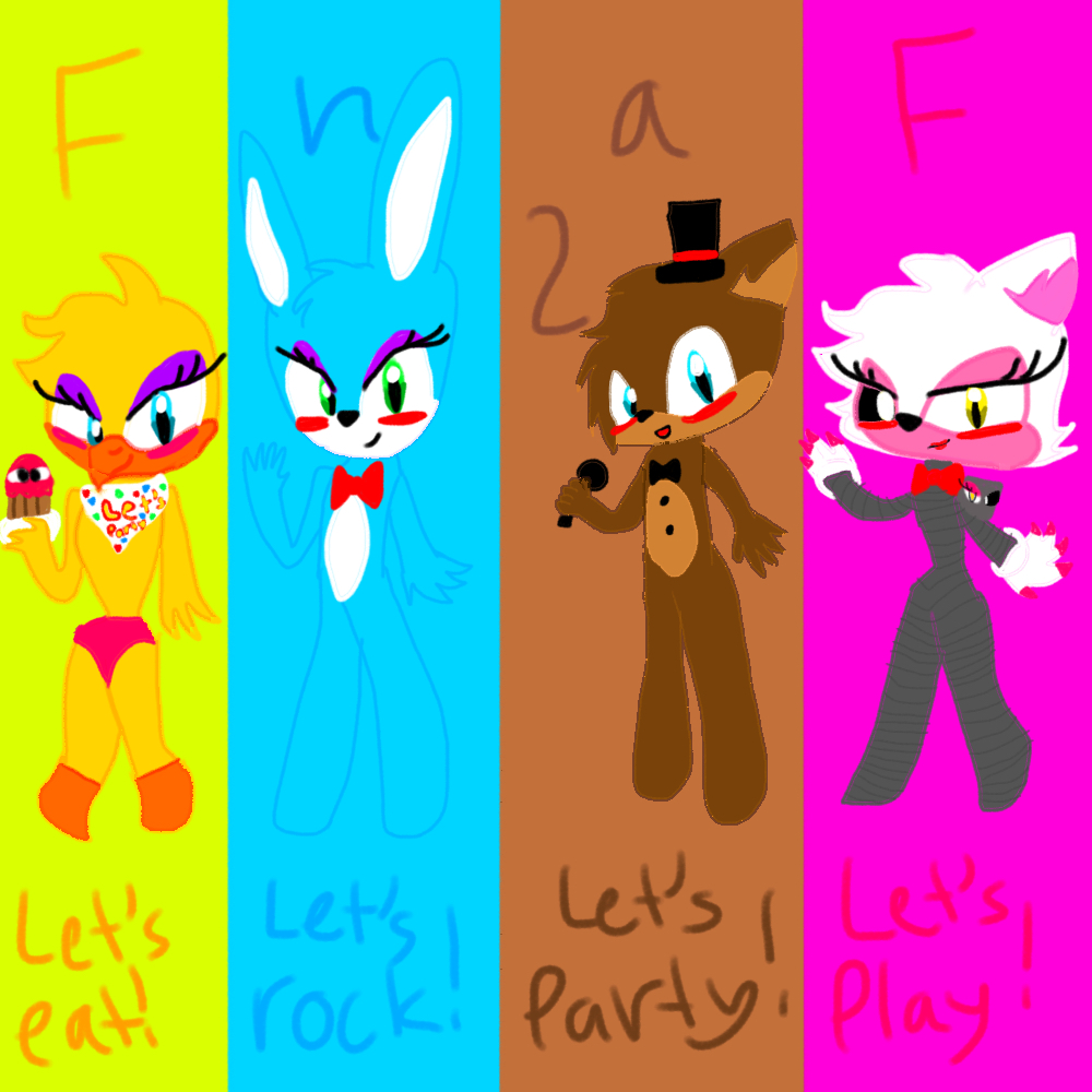 Five nights at freddy 2 sonic version by queenblazethecat14 on